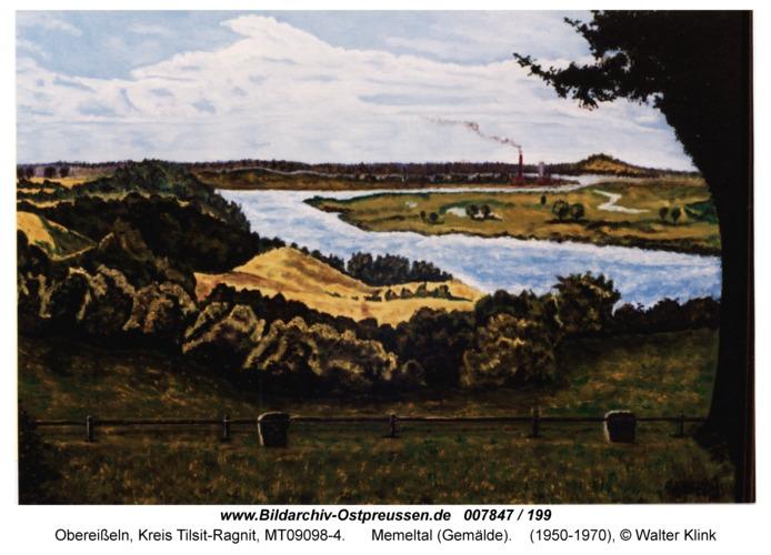 Obereißeln, Memeltal (Gemälde)