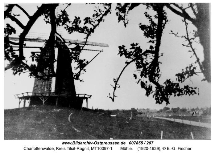 Charlottenwalde, Mühle
