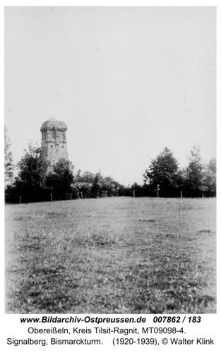 Obereißeln, Signalberg, Bismarckturm