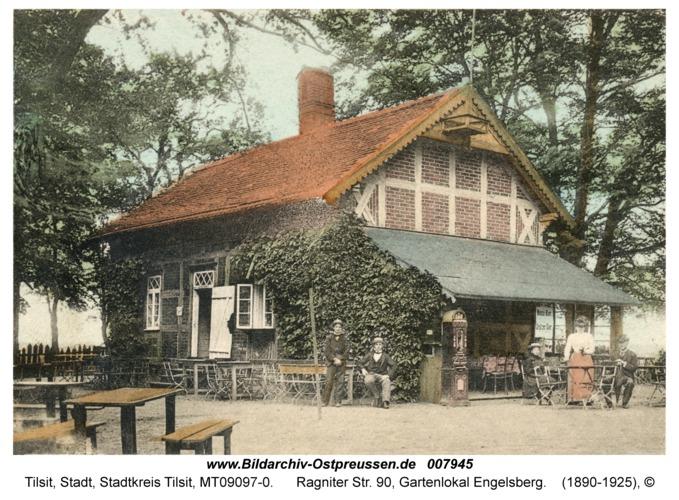 Tilsit, Ragniter Str. 90, Gartenlokal Engelsberg