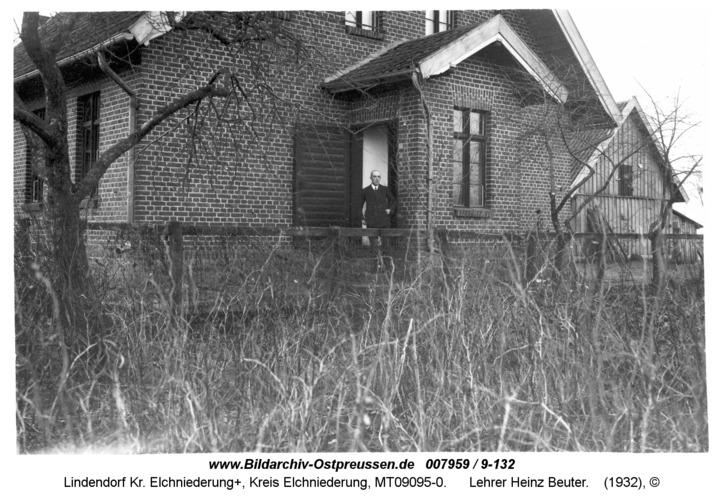 Lindendorf, Lehrer Heinz Beuter