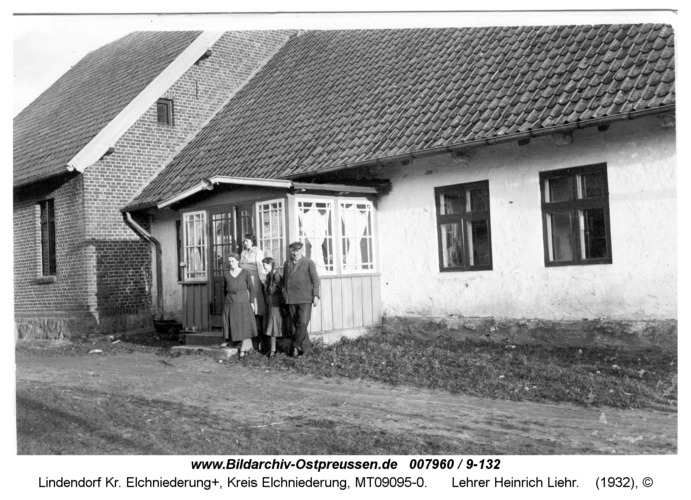 Lindendorf, Lehrer Heinrich Liehr