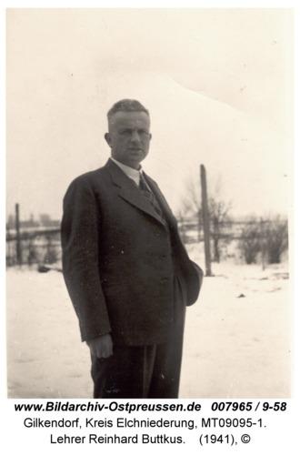 Gilkendorf, Lehrer Reinhard Buttkus
