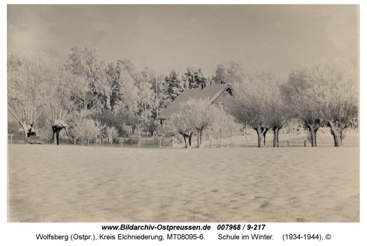 Wolfsberg, Schule im Winter