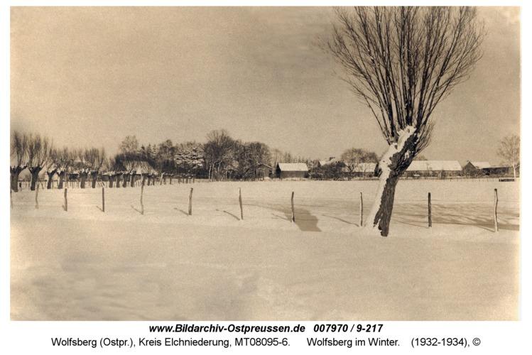 Wolfsberg im Winter