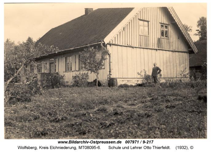 Wolfsberg, Schule und Lehrer Otto Thierfeldt