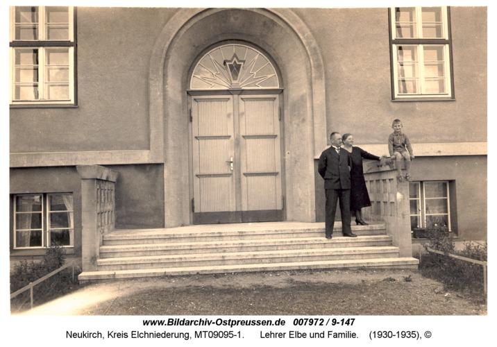 Neukirch, Lehrer Elbe und Familie