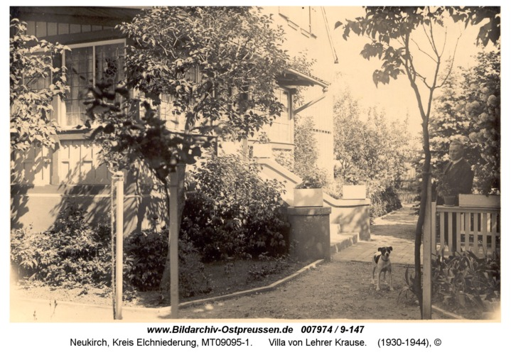 Neukirch, Villa von Lehrer Krause