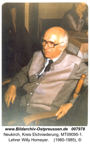 Neukirch, Lehrer Willy Homeyer
