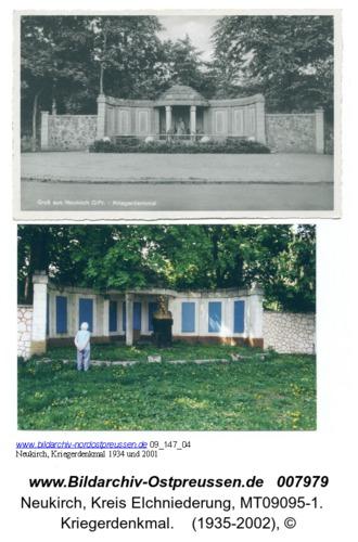 Neukirch, Kriegerdenkmal