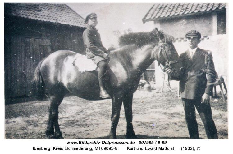 Ibenberg, Kurt und Ewald Mattulat