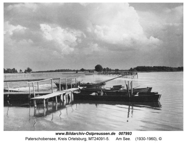 Paterschobensee, Am See