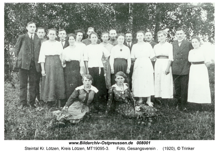 Steintal, Foto, Gesangsverein