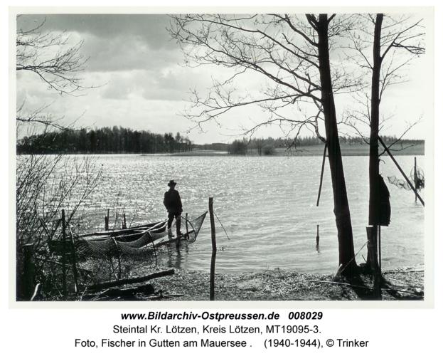 Steintal, Foto, Fischer in Gutten am Mauersee