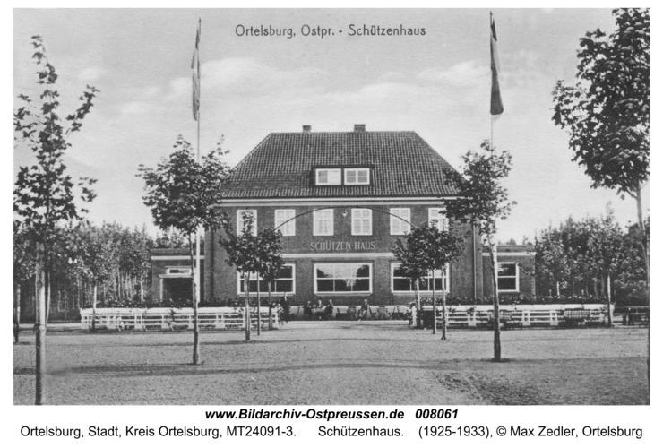Ortelsburg, Schützenhaus