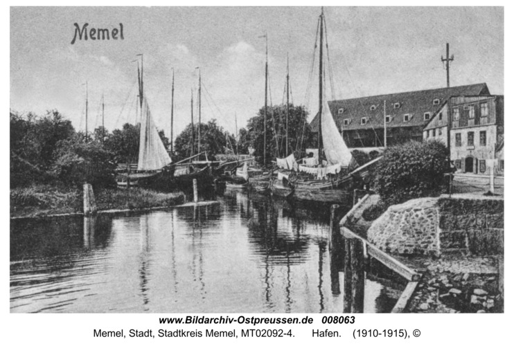 Memel, Hafen
