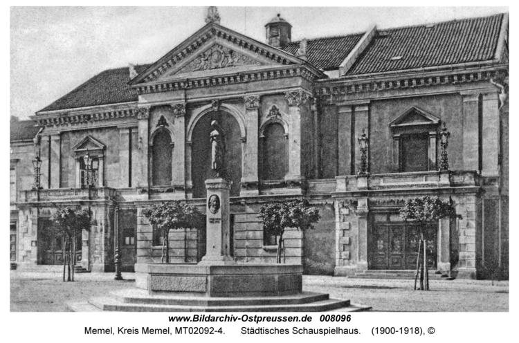 Memel, Städtisches Schauspielhaus