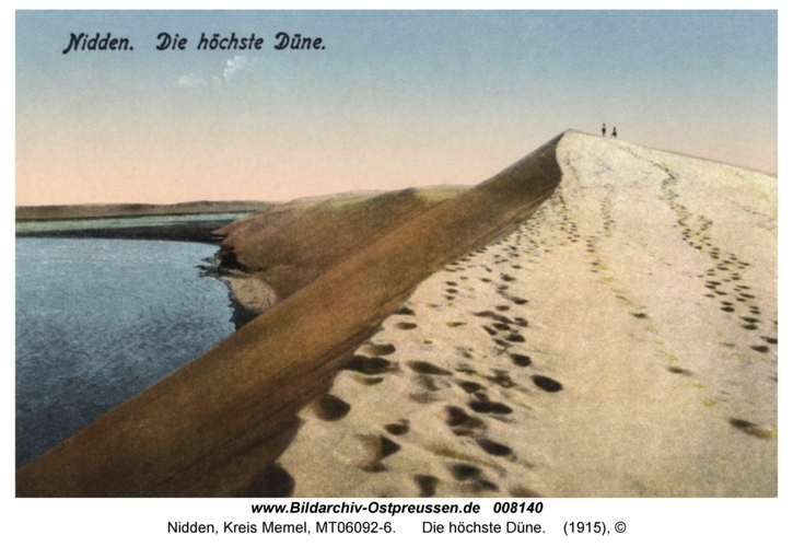 Nidden, Die höchste Düne