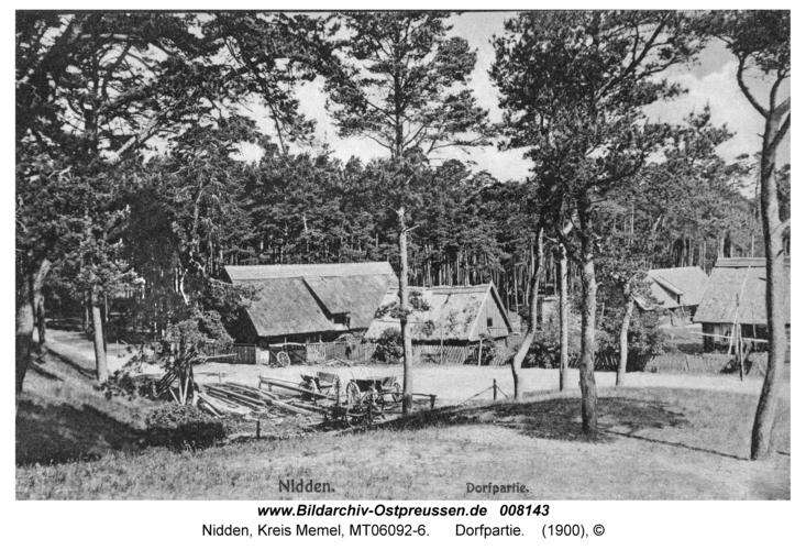 Nidden, Dorfpartie