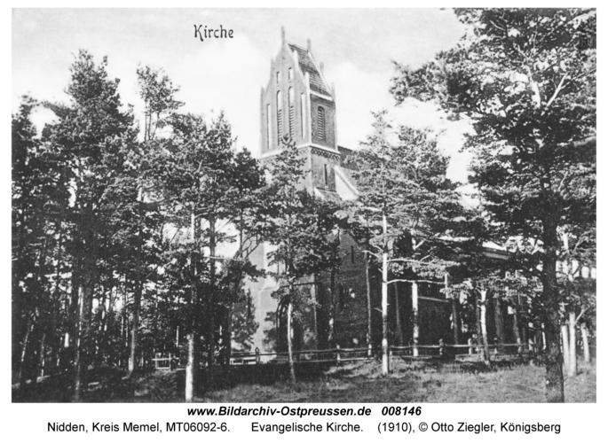 Nidden, Evangelische Kirche