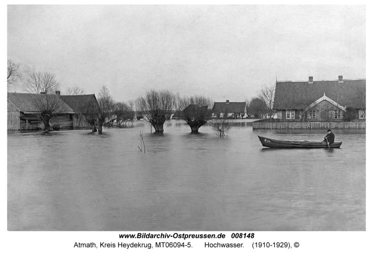 Atmath, Hochwasser