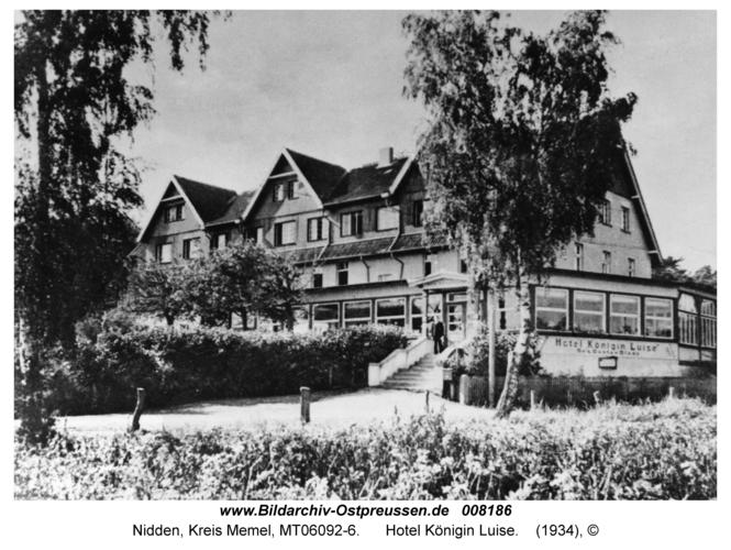Nidden, Hotel Königin Luise
