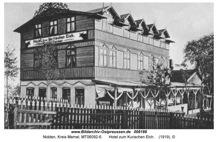 Nidden, Hotel zum Kurischen Elch