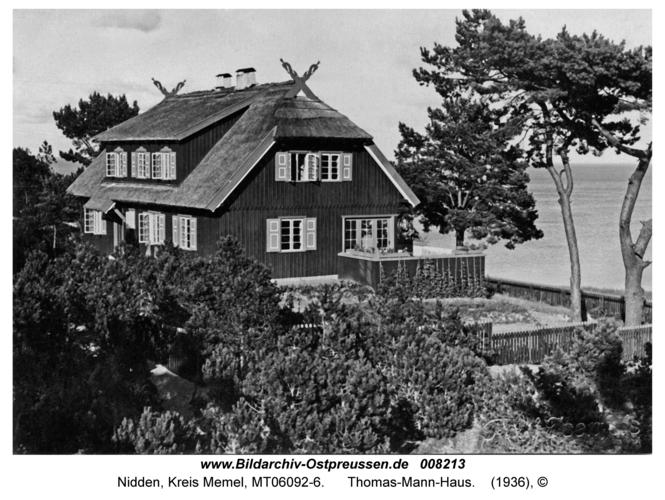 Nidden, Thomas-Mann-Haus