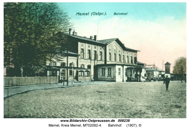 Memel, Bahnhof