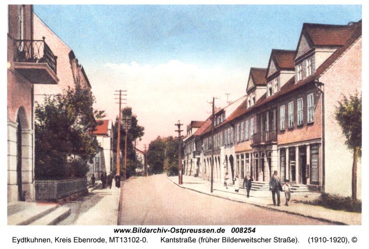 Eydtkau, Kantstraße (früher Bilderweitscher Straße)