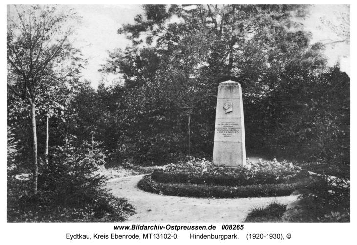 Eydtkau, Hindenburgpark