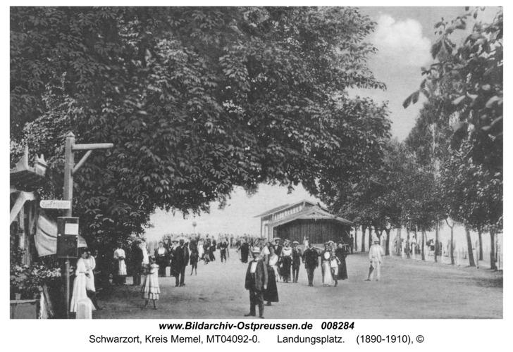Schwarzort, Landungsplatz
