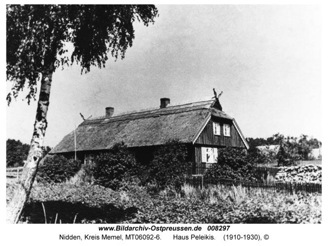 Nidden, Haus Peleikis