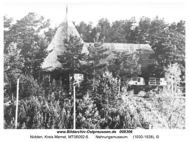 Nidden, Nehrungsmuseum