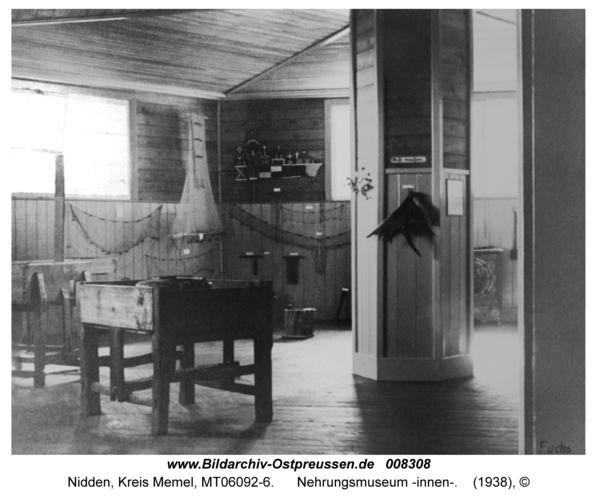 Nidden, Nehrungsmuseum -innen-
