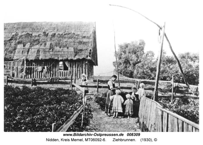 Nidden, Ziehbrunnen