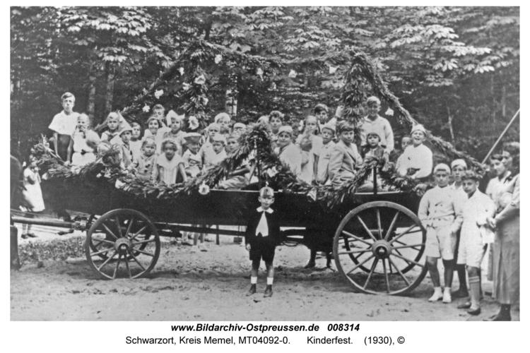 Schwarzort, Kinderfest