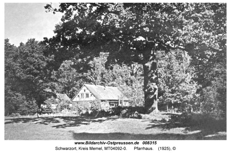 Schwarzort, Pfarrhaus