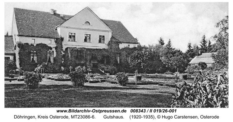 Döhringen, Gutshaus