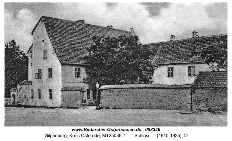 Gilgenburg, Schloß
