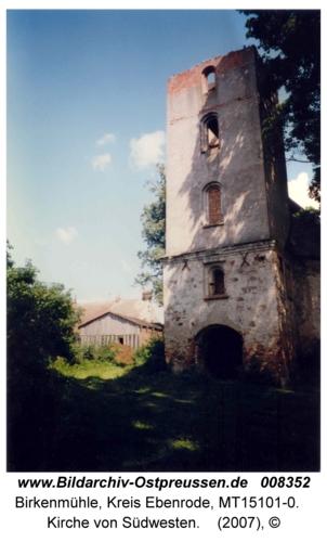 Birkenmühle, Kirche von Südwesten