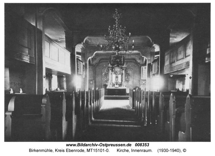 Birkenmühle, Kirche, Innenraum
