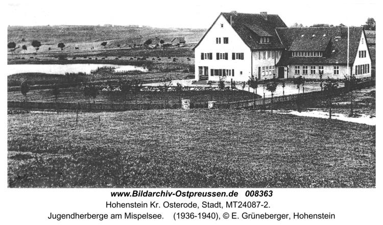 Hohenstein Kr. Osterode, Jugendherberge am Mispelsee