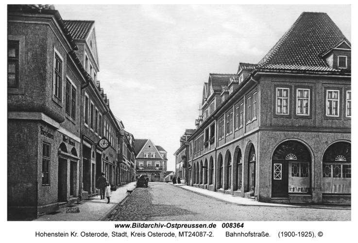 Hohenstein Kr. Osterode, Bahnhofstraße