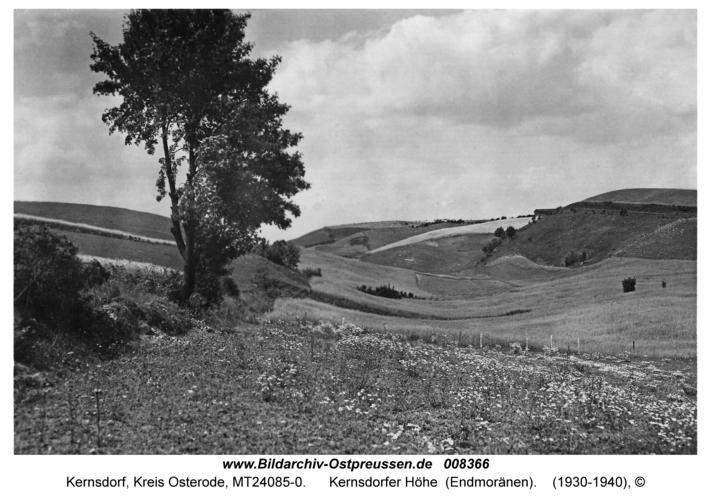 Kernsdorf, Kernsdorfer Höhe (Endmoränen)