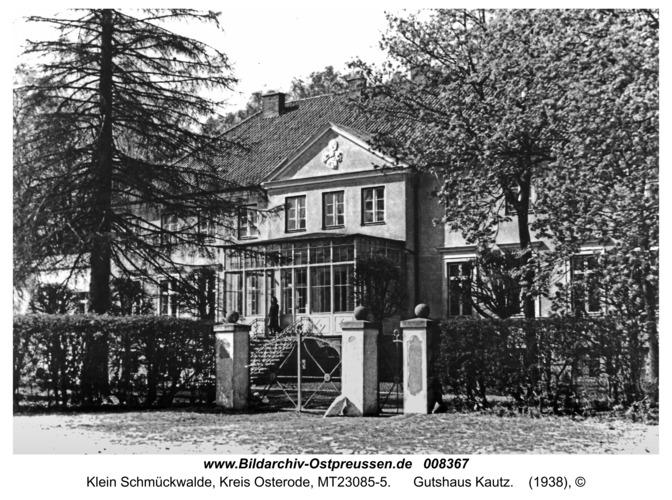 Klein Schmückwalde, Gutshaus Kautz