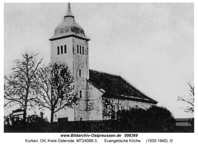 Kurken, Evangelische Kirche