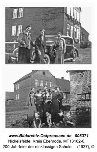 Nickelsfelde, 200-Jahrfeier der einklassigen Schule