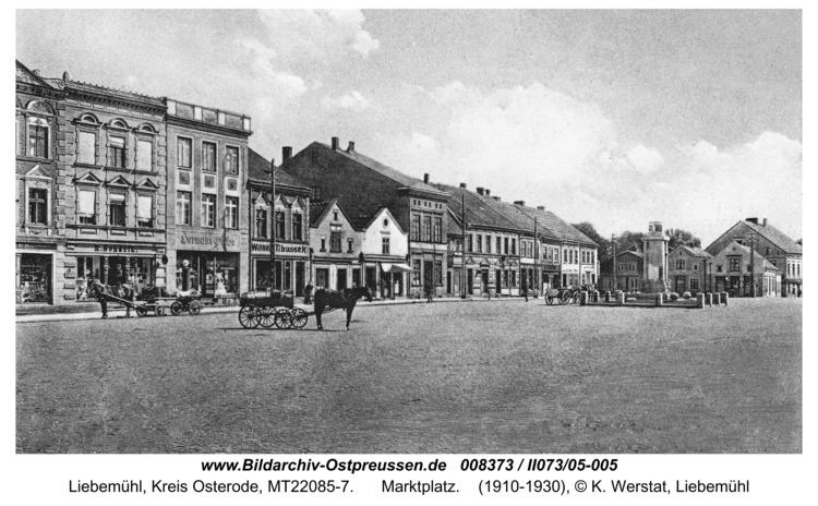Liebemühl, Marktplatz