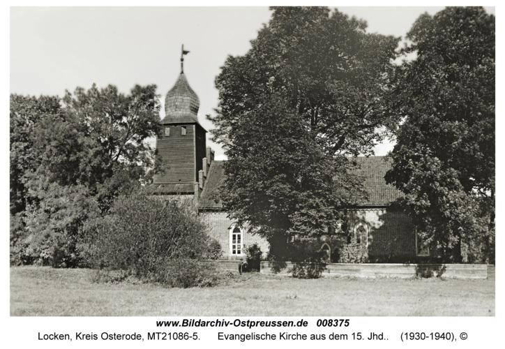 Locken, Evangelische Kirche aus dem 15. Jhd.